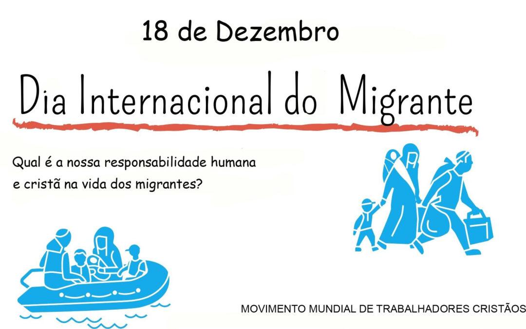 18 de dezembro – Mensagem do Dia Internacional do Migrante
